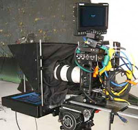 D5 with 15 inch high bright prompter