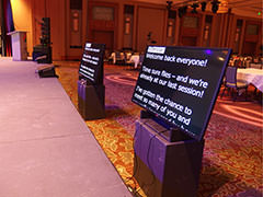 Prompter Confidence Monitor